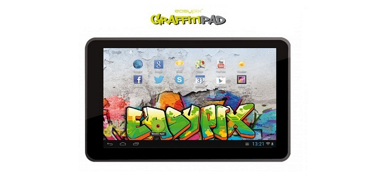 "Tablet PC Easypix EP770 Grafitti 7"" με Android 4.1, 8GB (Refurbished)! - Tablet"