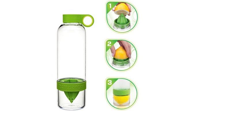 Φορητό Μπουκάλι με Ενσωματωμένο Αποχυμωτή που μπορείτε να πίνετε νερό με τη γεύσ για την κουζίνα   διάφορα κουζίνας