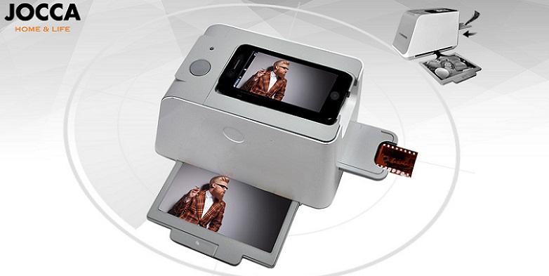 Scanner για iPhone 4/4S, iPhone 5 & Smartphones JOCCA 1168! - JOCCA home & life τεχνολογία   ψηφιακοί μετατροπείς