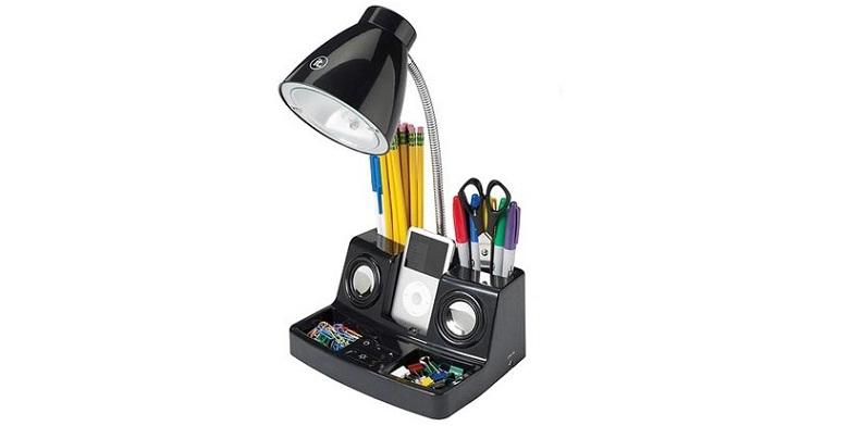 Φωτιστικό Γραφείου με Ενσωματωμένα Ηχεία TuneLight iPod - Mp3 Speaker System! -  σπίτι και κήπος   οργάνωση γραφείου
