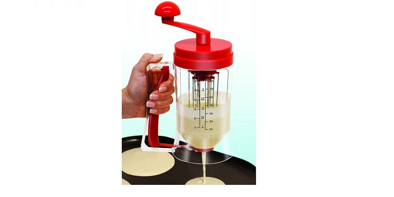 Χειροκίνητη Συσκευή Αναδευτήρας! Ιδανική για τηγανίτες, κρέπες, cupcakes, pancak