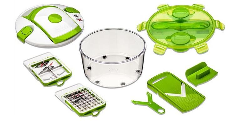 Εξυπνος Πολυκόφτης Λαχανικών και φρούτων Salad Chef Smart! - SALAD CHEF SMART αξεσουάρ και εργαλεία κουζίνας   τρίφτες  κόφτες και αποφλοιωτές
