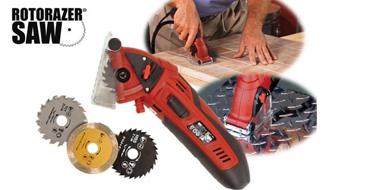 Ηλεκτρικό Πριόνι Χειρός ROTORAZER! - ROTORAZER σπίτι   εργαλεία