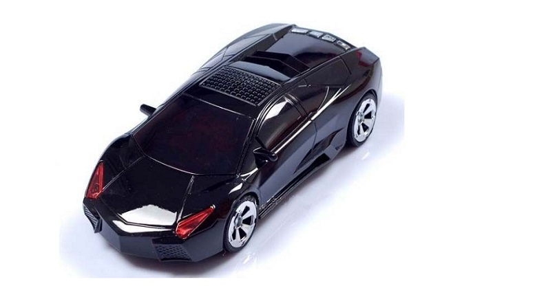 Racing car ψηφιακό σε διαφορα σχέδια ηχείο-ραδιόφωνο CR-CRZ21! Μαύρο - CH τεχνολογία   ηχεία κινητών