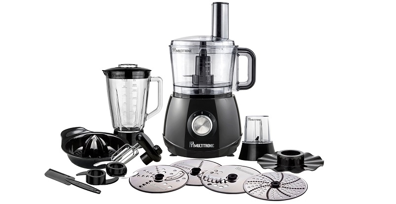 MULTITRONIC MT-002 Επεξεργαστής Τροφίμων Compact Food Processor 1200W – MULTITRONIC