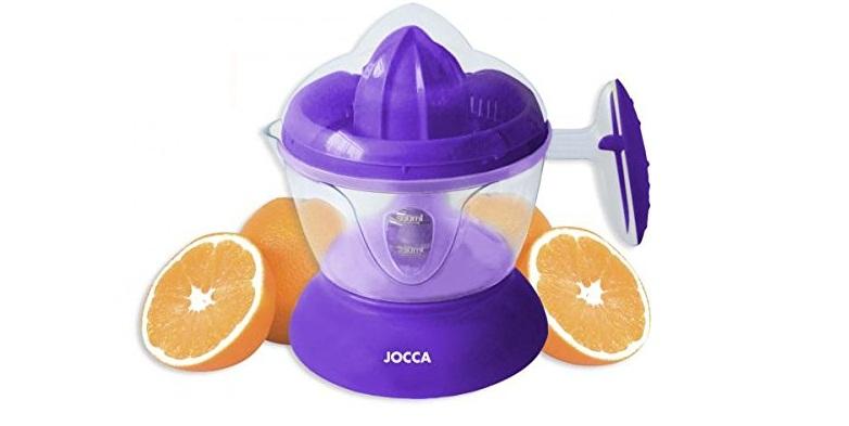 Jocca Ηλεκτρικός Λεμονοστίφτης Πορτοκαλοστίφτης 25W - Electric Juicer σε μωβ χρώ ηλεκτρικές οικιακές συσκευές   αποχυμωτές