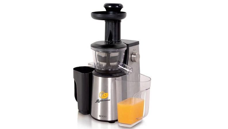 Αποχυμωτής Slow Juicer,Πρέσα Φρούτων & Λαχανικών 1L SOGO SS-5100 - SOGO - 000059