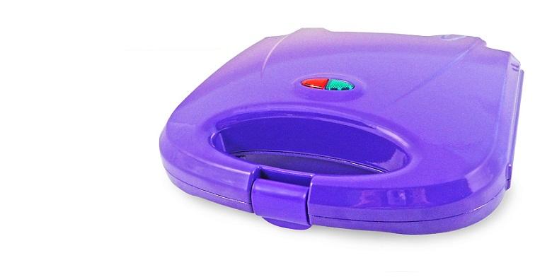 Jocca Τοστιέρα 2 θέσεων 750W σε Μωβ χρώμα, 5064M - JOCCA home & life μικροσυσκευές   τοστιέρες σαντουιτσιέρες