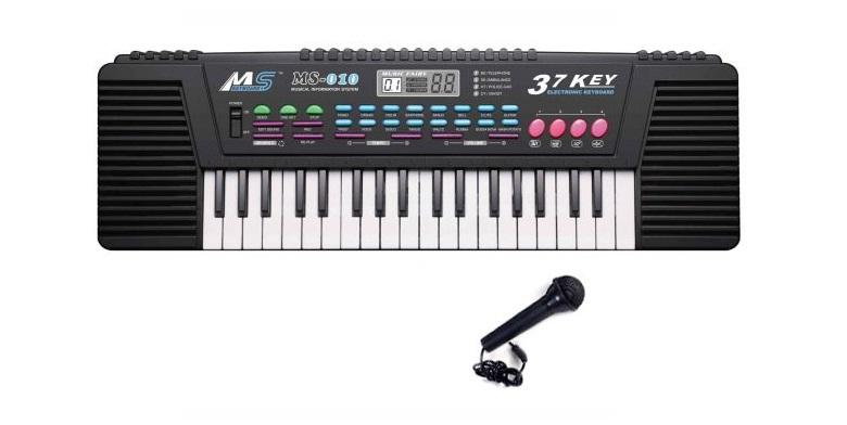 Παιδικό Αρμόνιο 37 Πλήκτρων με Πλούσια Ηχητικά Εφέ και Μικρόφωνο Καραόκε CRZ-61! παιχνίδια  παιδί  και  βρέφος   μουσικά όργανα για παιδιά