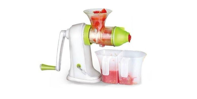 Πρέσα φρούτων και λαχανικών Χειροκίνητος Αποχυμωτής Slow Juicer! - Slow Juicer μικροσυσκευές   αποχυμωτές