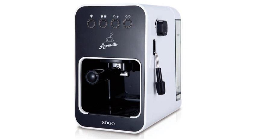 Καφετιέρα Espresso 15 Bar 1050W, SOGO CAF-SS-5650 - SOGO ηλεκτρικές οικιακές συσκευές   καφετιέρες και είδη καφέ