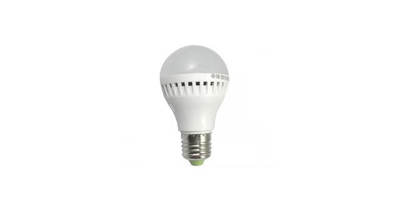 Αυτόματη Λυχνία Οικονομίας LED 5W με Φωτοκύτταρο και Αισθητήρα Ήχου – Led Sensor Led light & Sound Control Lamp! – Sensor Lamp