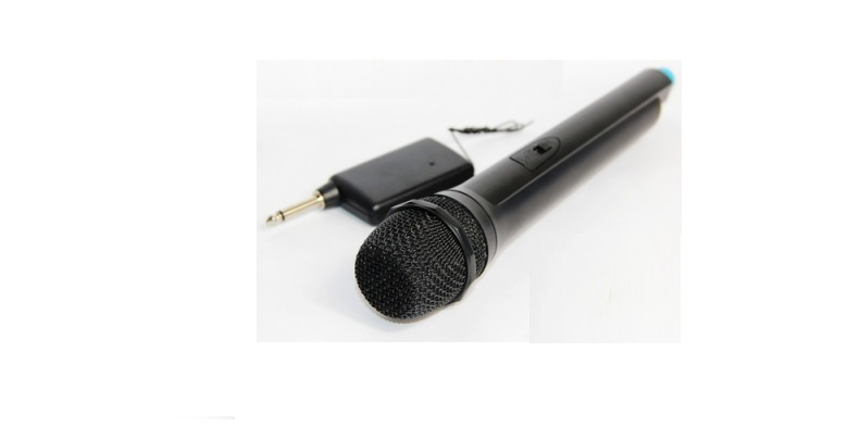Ασύρματο Μικρόφωνο DJ / ΚΑΡΑΟΚΕ karaoke VHF Hi-Fi - WEISRE DM3308 ΜΑΥΡΟ - WEISRE μικρόφωνα   ασύρματα μικρόφωνα