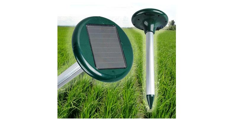 Ηλιακός Απωθητής Τρωκτικών με Υπέρηχους - Πάσσαλος Εξωτερικού Χώρου AS-0041! - T κήπος και βεράντα   εντομοαπωθητικά