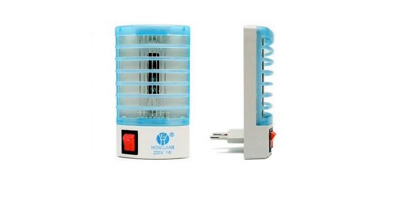 Mini Ηλεκτρικό Εντομοκτόνο LED 1W & φωτιστικό νυχτός! – OEM