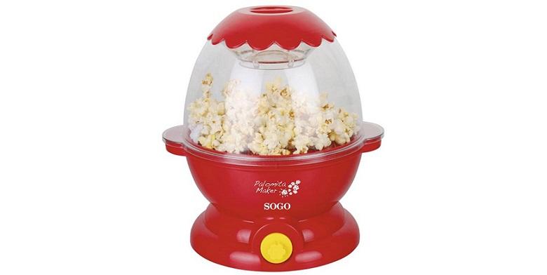 SOGO Μηχανή παρασκευης Ποπ Κορν Pop Corn Maker 700W με χρονοδιακόπτη & ειδική θή μικροσυσκευές   συσκευές για ποπ κορν  pop corn