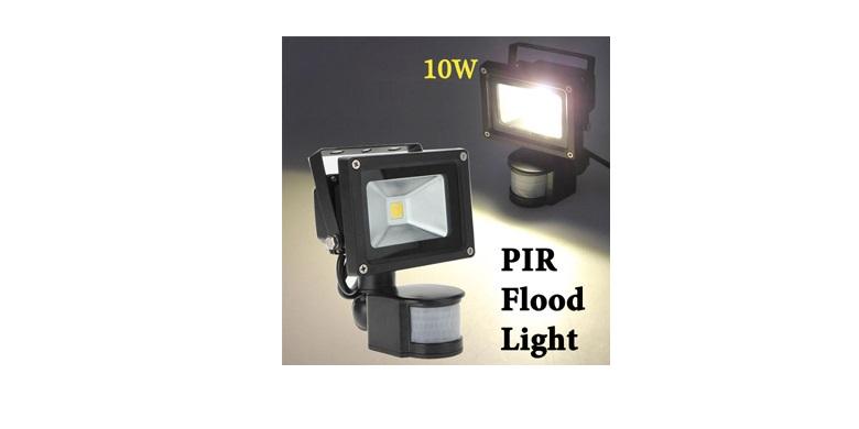 Προβολέας led 10w με Ανιχνευτή Κίνησης Υψηλή Φωτεινότητα Χαμηλή Κατανάλωση! - LE σπίτι   ηλεκτρολογικός εξοπλισμός