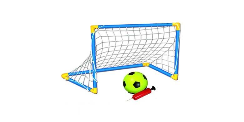 Jocca 6174 Football Set - Σετ ποδοσφαίρου Mε τέρμα, μπάλα και τρόμπα - JOCCA hom παιχνίδια  παιδί  και  βρέφος   έξυπνα   εκπαιδευτικά παιχνίδια