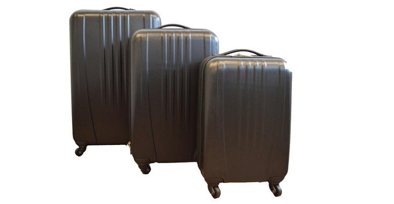 Βαλίτσες Σετ 3τμχ από ελαφρύ σκληρό υλικό, με ροδάκια και τηλεσκοπικό χερούλι! Α ρούχα  παπούτσια  και  αξεσουάρ   τσάντες  πορτοφόλια  βαλίτσες ταξιδίου
