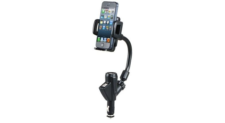 Βάση Κινητού Τηλεφώνου για Αναπτήρα Αυτοκινήτου & Διπλός Φορτιστής! - Car Charge gps και είδη αυτοκινήτου   βάσεις στήριξης για κινητά και tablets
