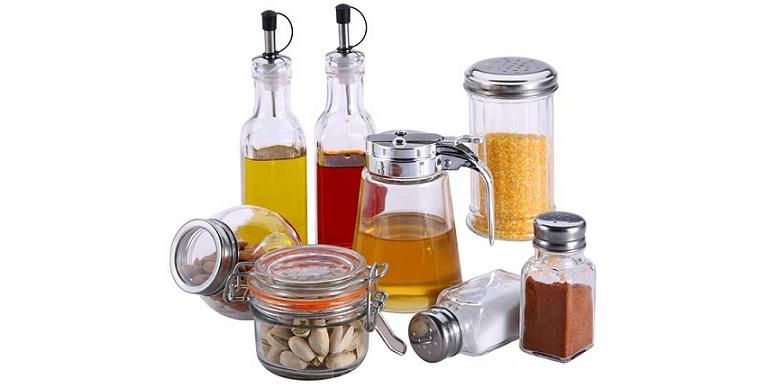 Σετ Κουζίνας 8 τμχ Renberg RB-4254! Από γυαλί, ιδανικό για καρυκεύματα! - Renber αξεσουάρ και εργαλεία κουζίνας   άλλα αξεσουάρ κουζίνας