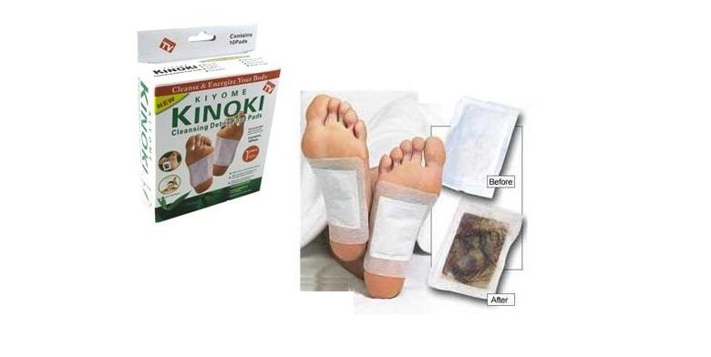 Επιθέματα Πελμάτων KIYOME KINOKI για αποτοξίνωση του οργανισμού - 30τμχ - TV υγεία  και  ομορφιά   σόλες   πέλματα