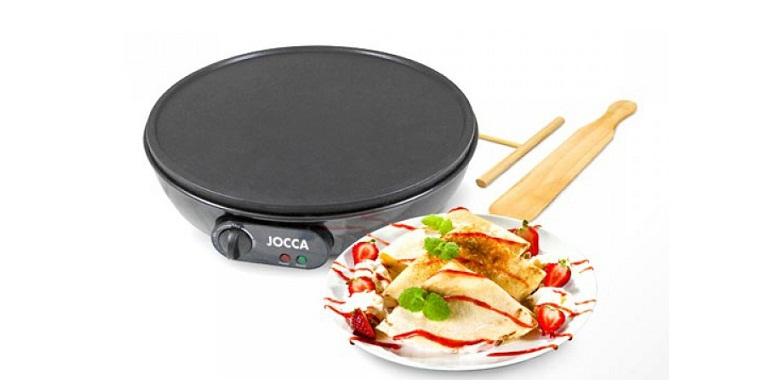 Jocca Ηλεκτρική Κρεπιέρα 30cm Crepe Maker 1000W, 5583 - JOCCA home & life ηλεκτρικές οικιακές συσκευές   παρασκευαστές κρέπας
