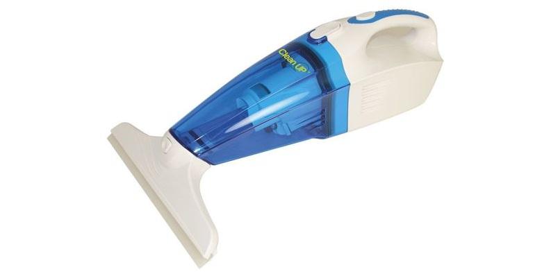 Επαναφορτιζόμενο Σκουπάκι Χειρός Clean Up 3 σε 1 – Καθαριστής Τζαμιών, Υγρών & Στερεών! – Clean Up