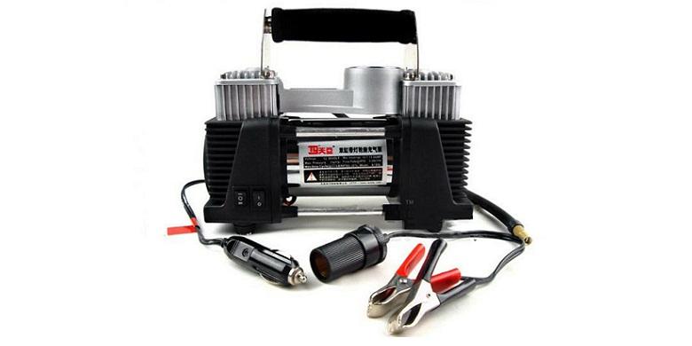 Ηλεκτρική τρόμπα αέρος αυτοκινήτου, 2 κυλίνδρων, υψηλής απόδοσης,ισχής 12V - 150