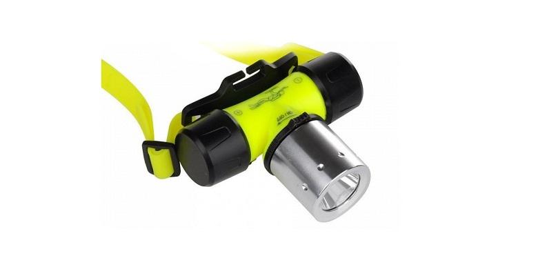 Αδιάβροχος Υποβρύχιος Καταδυτικός CREE LED Τ6 Φακός Κεφαλής με Επαναφορτιζόμενη  gadgets   φακοί