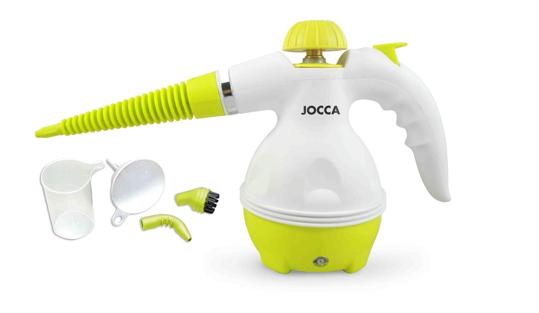 Jocca Ατμοκαθαριστής Χειρός 3Bar 1000W σε Λαχανί χρώμα, 3050 - JOCCA home & life είδη καθαρισμού   ατμοκαθαριστές