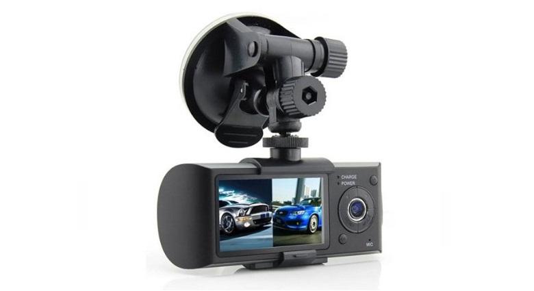 Κάμερα Αυτοκινήτου Καταγραφικό Διπλών Φακών Dual Car DVR με GPS & G Sensor Tacho αξεσουάρ αυτοκινήτου   καταγραφικά dvr   κάμερες