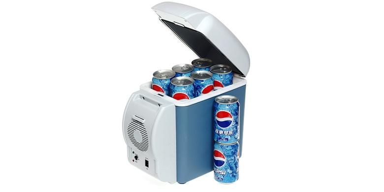 Ηλεκτρικό Φορητό Ψυγείο 7,5 Λίτρων για το Αυτοκίνητο 12V για Ψύξη ή Θέρμανση - O