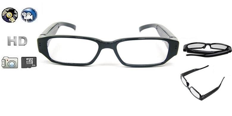 0038728120 HD Γυαλιά Οράσεως με Κρυφή Κάμερα και Μικρόφωνο - Spy Camera Glasses 720p  DVR-5M! - www.hellas-tech.gr
