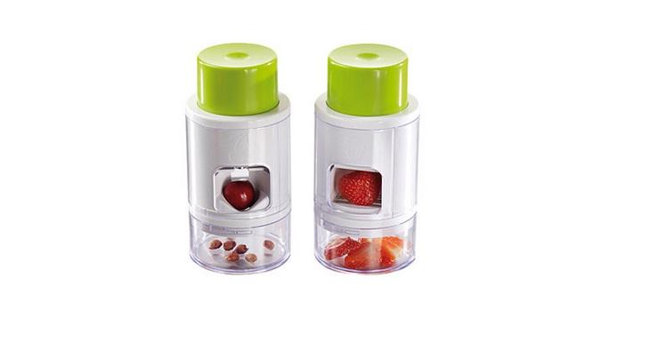Συσκευή Αφαίρεσης Κουκουτσιών & Κοπής Φράουλας! - TV αξεσουάρ και εργαλεία κουζίνας   άλλα αξεσουάρ κουζίνας