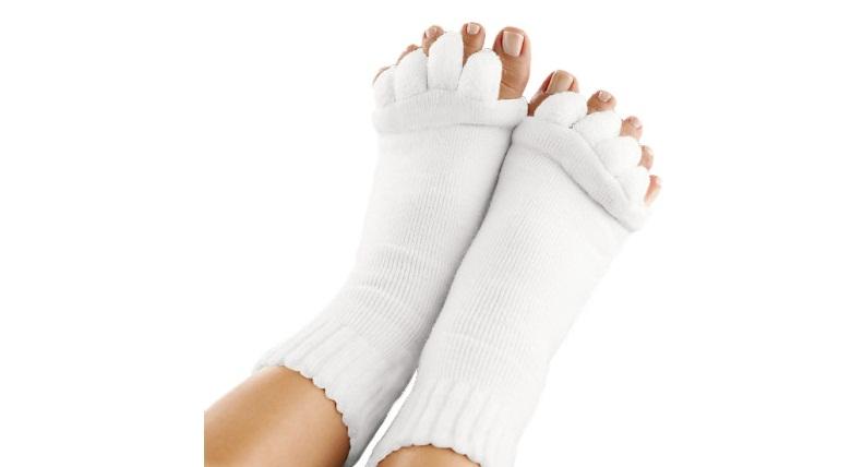 Κάλτσες Ευθυγράμμισης Δαχτύλων Ποδιών για Ανακούφιση από Κούραση & Πόνους - Toe  υγεία  και  ομορφιά   αντιμετώπιση πόνου