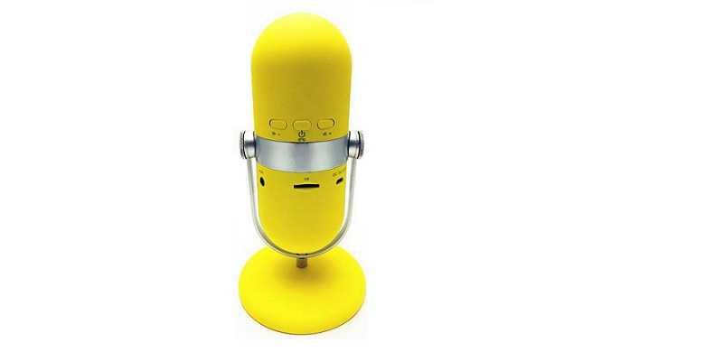 Retro Microphone Style Bluetooth Multimedia Speaker, MP3 Player, Hand Free Kit!  ήχος   bluetooth και μικρά ηχεία