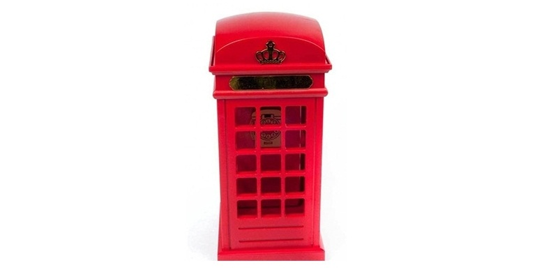 Ενσύρματη Τηλεφωνική Συσκευή Τηλεφωνικός Θάλαμος με θέμα Λονδίνο - OEM τηλεφωνία και tablets   σταθερά τηλέφωνα και ip