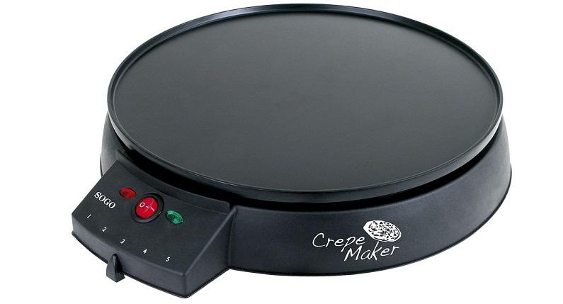 SOGO Ηλεκτρική Κρεπιέρα 30cm - Electric Crepe Maker CMA-SS-7185 - SOGO μικροσυσκευές   βάφλες  κρέπες  μπισκότα  κέικ