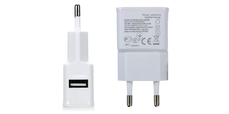 Φορτιστής ταξιδιού της Bwoo για Android USB+Wall charger - BWOO τηλεφωνία και tablets   φορτιστές και καλώδια usb