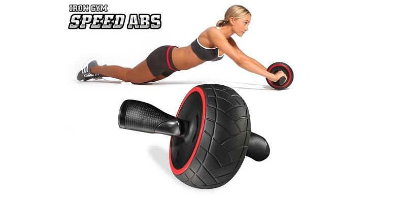 Iron Gym Speed Abs Ρόδα Εκγύμνασης Κοιλιακών, IRG013 - Iron Gym αθλητισμός και fitness   όργανα γυμναστικής