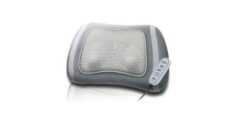 Σιάτσου Μαξιλάρι Μασάζ, με Μοτέρ Μειωμένου Θορύβου από την Telehome TM-713 - Tel υγεία  και  ομορφιά   αντιμετώπιση πόνου