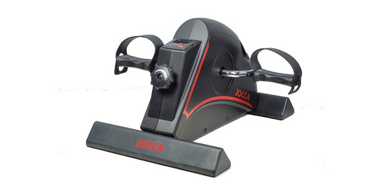 Jocca Στατικό Ποδήλατο Γυμναστικής - Black & Red Mini Exercise Bike σε Μαύρο Κόκ όργανα γυμναστικής   στατικά ποδήλατα