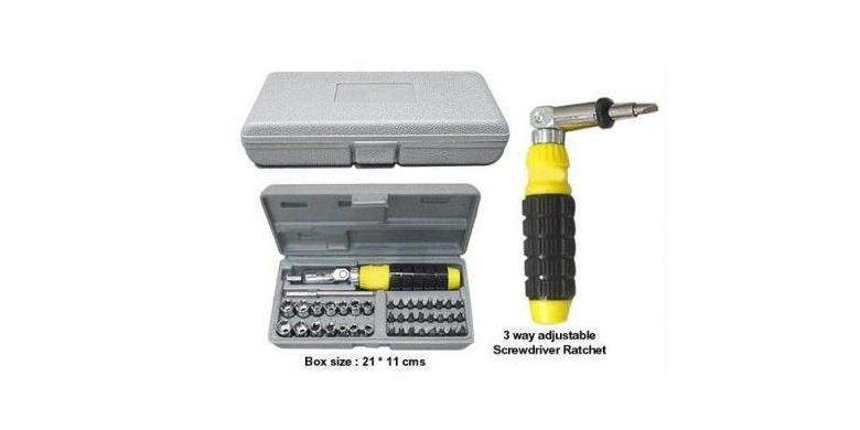 AIWA Σετ 41 Κατσαβίδια και Καρυδάκια σε Κασετίνα AIWA 41Pcs - AIWA σπίτι   εργαλεία