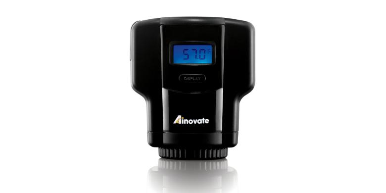 Ηλεκτρονικό Έξυπνο Καπάκι με Αποσυμπίεστη Αέρα για Κρασί από την Ainovate EF1330 κουζίνα   αξεσουάρ και έπιπλα αποθήκευσης κρασιών