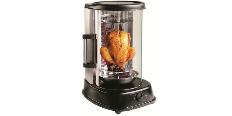 Ηλεκτρονική Ψησταριά για γύρο, κοτόπουλο και λαχανικά 52x40x34cm 1500W Enrico M- αξεσουάρ και εργαλεία κουζίνας   άλλα αξεσουάρ κουζίνας