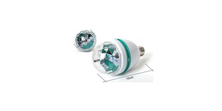 Disco λάμπα για πάρτι- Full Color Rotating Lamp - LED σπίτι   ηλεκτρολογικός εξοπλισμός