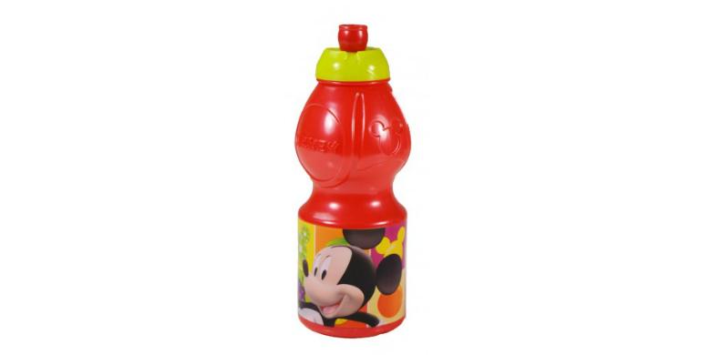 Mickey Mouse Σπορ Μπουκαλάκι 400ml, Jocca 2003S - JOCCA home & life μωρά και παιδιά   ώρα του φαγητού