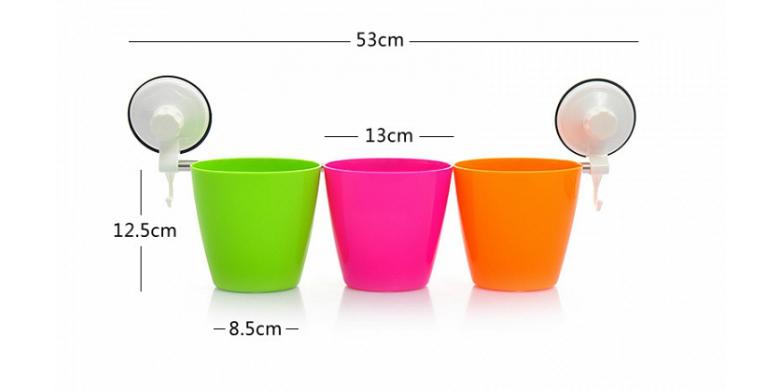 Χρωματιστά Καλαθάκια Αποθήκευσης για την Κουζίνα ή το Μπάνιο Kitchen Storage Bas μπάνιο   αξεσουάρ μπάνιου