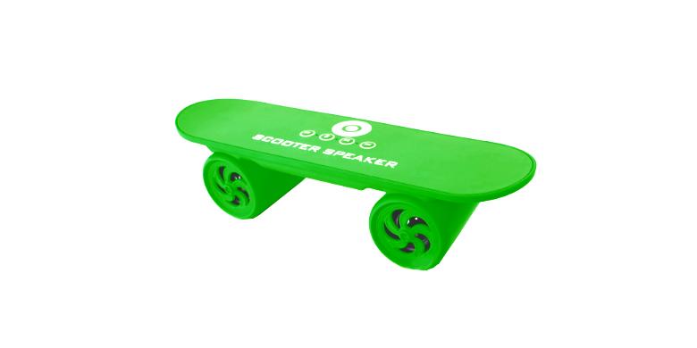 Wireless Ηχεία Scooter Πράσινα με Radio - OEM gadgets   αξεσουάρ κινητών